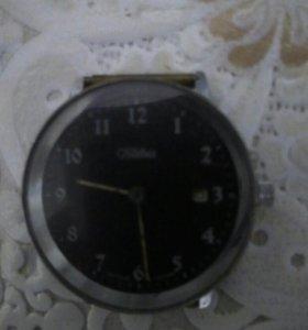 Часы СЛАВА 1990г.рабочие
