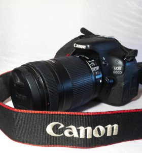 Canon EOS-600D Kit 18-135mm