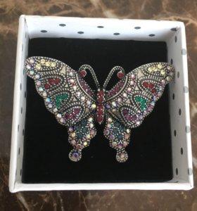 Новая брошь «Бабочка»