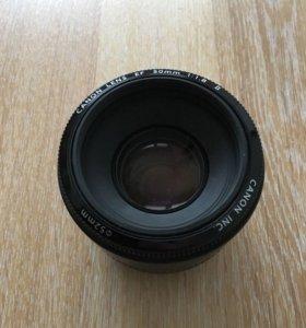 canon 50mm F/1.8 EF Canon