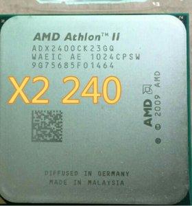 Процессор AMD Athlon II x2 240 socet Am3