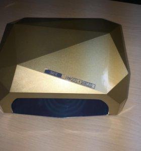 Гибридная лампа бриллиант для маникюра 36w