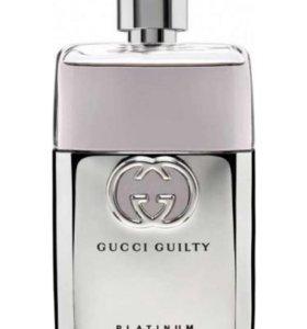 Парфюмерная вода Gucci Guilty Pour Homme Platinum