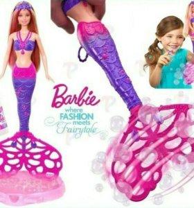 Оригинал Barbie «Русалочка с мыльными пузырями