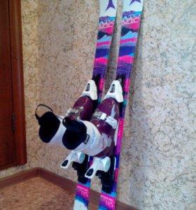 Горные лыжи Atomic Vantage Girl II+XTE 045+ботинки