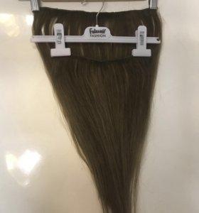 Волосы тресс натуральные славянские