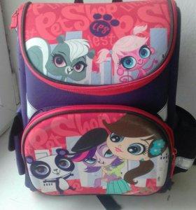 Рюкзак школьный дев.