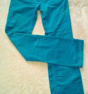 Брюки джинсы вельветовые р 44
