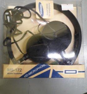 Наушники самсунг ms-172 б33