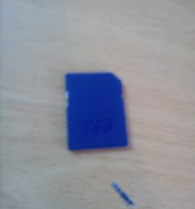 Карта памяти на 8 GB