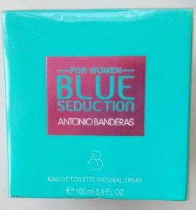 Antonio Banderas Blue Seduction,100 ml.Новые.