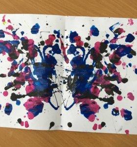 Абстракционизм «Бабочки»