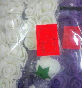 Цветочные бутоны, ветки, листья , лоза