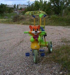 Велосипед детский музыкальный