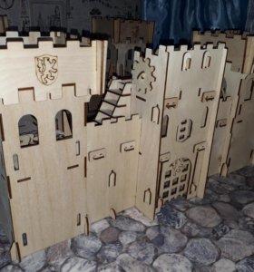 Деревянный конструктор Замок