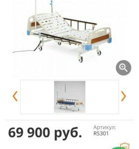 Электрическая кровать с приводами