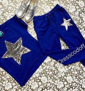 Женский костюм со звездой