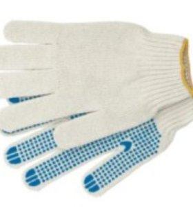 Перчатки Х/Б трехнитка