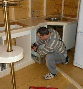 Сборка - установка Кухни