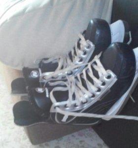 Коньки(Nordway Boston) для хоккея.
