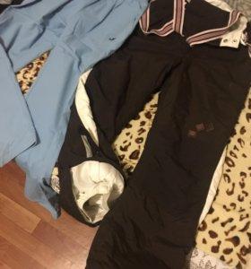 Горные,лыжные спортивные зимние штаны