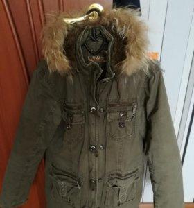 Зимняя куртка(Парка)с капюшоном