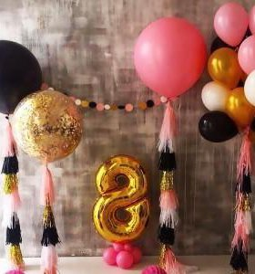 Воздушные шары от 45р