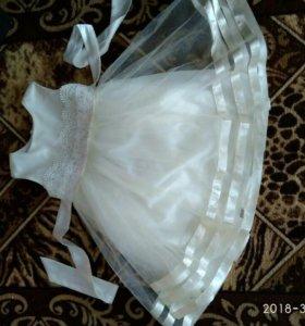 Нарядное платье для девочки