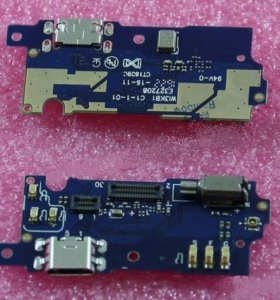 Шлейф Meizu M3s mini Нижняя плата Разъем зарядки