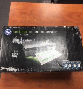Принтер HP OfficeJet 100 L411a mobile + battery