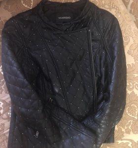 Женская куртка кожа натуральная