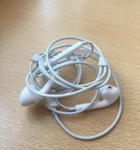 Новые наушники от iPhone 8 оригинал