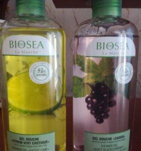 Натуральные Гели для душа от biosea