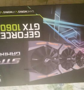 Видеокарта ASUS STRIX 1060 OC 6GB