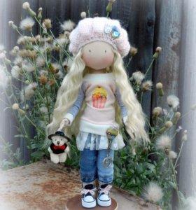 Кукла интерьерная (не игровая)