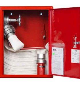 Испытания пожарных кранов на водоотдачу