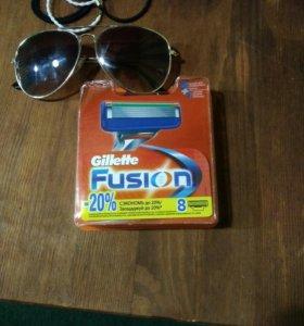Кассеты Gillette Fusion 8шт.