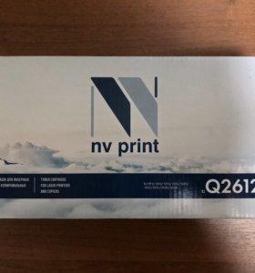 Картридж NV Print Q2612A для LJ (новый!)