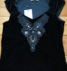 Блузка женская новая бархат
