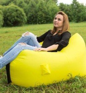 Надувное кресло-лежак Ламзак с карманами