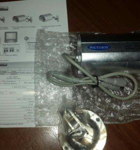 Цветная влагозащищенная ИК-камера PVCW-0122C (6.0)