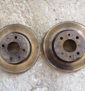 Тормозные диски передний привод