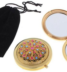 Компактное подарочное зеркало (двойное)