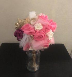 Ручная работа букет цветов