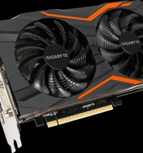 Видеокарта Gigabyte GeForce GTX 1050 Ti 4 ГБ