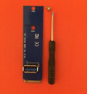 Переходник М.2 to USB