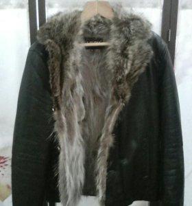 Зимняя куртка мужская с мехом .