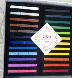 Пастель koh-i-noor твердая, оригинальная 24 цвета