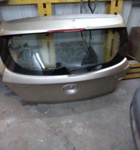 Крышка багажника на Хендай Солярис Хэтчбек