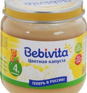 Пюре Bebivita цветная капуста